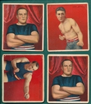 1910 T218 Boxers Lot of (49) W/ Jefferies & Attell
