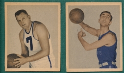 1948 Bowman Basketball #48 Sadowski, & #52 Simmons , Lot of (2)