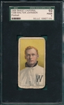 1909-1911 T206 Walter Johnson, Portrait, Sweet Caporal Cigarettes SGC 10