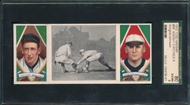 1912 T202 Knight Catches A Runner, Knight/Johnson, Hassan Cigarettes SGC 80