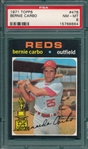 1971 Topps #478 Bernie Carbo, PSA 8 *Trophy Rookie*