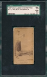 1887 N172 388-3 Wilbert Robinson Old Judge Cigarettes SGC 20