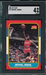 1986 Fleer #57 Michael Jordan SGC 4 *Rookie*