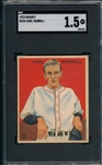 1933 Goudey #234 Carl Hubbell SGC 1.5