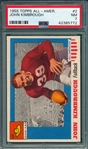 1955 Topps All American #2 John Kimbrough PSA 7