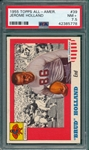 1955 Topps All American #39 Jerome Holland PSA 7.5