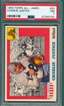 1955 Topps All American #63 Charlie Justice PSA 7