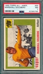 1955 Topps All American #89 Marshall Goldberg PSA 7