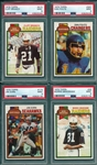 1979 Topps FB Lot of (11) W/ Fouts & Branch PSA 9 *MINT*