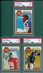 1979 Topps FB Lot of (24) W/ Harry Carson PSA 9 *MINT*