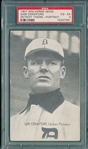 1907 Wolverine News Sam Crawford, Portrait, PSA 4