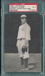 1907 Dietsche Post Cards, Downs, Tigers, PSA 5