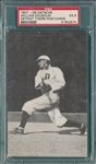 1907 Dietsche Post Cards, Coughlin, Tigers, PSA 5