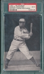 1907 Dietsche Post Cards, Crawford, Tigers, PSA 5