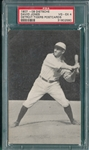 1907 Dietsche Post Cards, Jones, David, Tigers, PSA 4