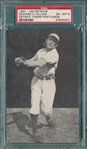 1907 Dietsche Post Cards, Killian, Tigers, PSA 5