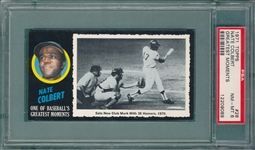 1971 Topps Greatest Moments #28 Colbert PSA 8