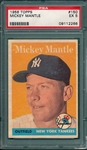 1958 Topps #150 Mickey Mantle PSA 5