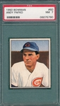 1950 Bowman #60 Andy Pafko PSA 7 *SP*