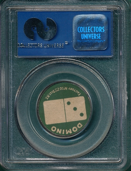 1909 PX7 John McGraw, Domino Discs, Sweet Caporal Cigarettes PSA 9 *MINT*
