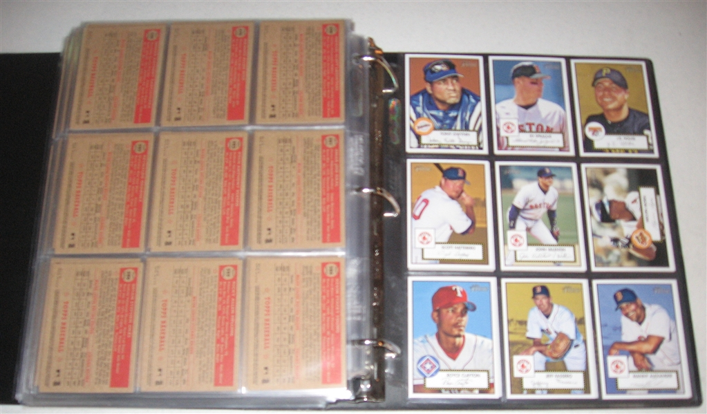 2001 Topps Heritage Baseball Complete Set w/ Variations (487)