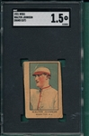 1921 W551 Walter Johnson SGC 1.5