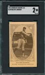 1922 E120 Walter Johnson SGC 2 *Presents Better*