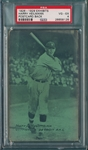 1926-29 Exhibits Harry Heilmann PSA 4 *PC Back*