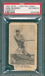 1922 W575-1 Hank Severeid Keating Candy PSA Authentic