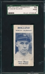 1926 Holland Creameries #7 Oscar Bluege SGC 10 *Pop 4*