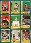 1972 Topps Hockey Complete Set (176)
