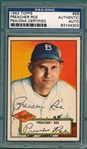 1952 Topps #66 Preacher Roe, Signed, PSA/DNA Certified