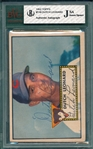 1952 Topps #110 Dutch Leonard, Signed, JSA Certified