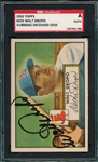 1952 Topps #235 Walt Dropo, Signed, SGC Certified