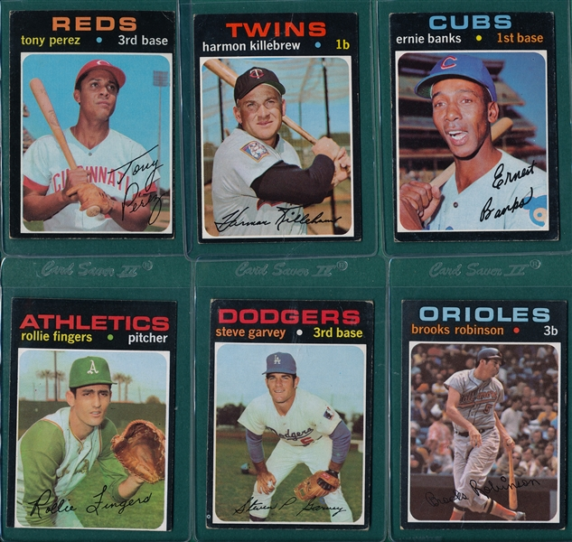 1971 Topps Baseball Near Set (751/752)