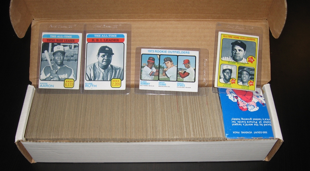 1973 Topps Baseball Complete Set (660) W/ Schmidt, Rookie