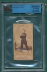 1887 N172 023-4 Charles Bastian Old Judge Cigarettes BVG Authentic