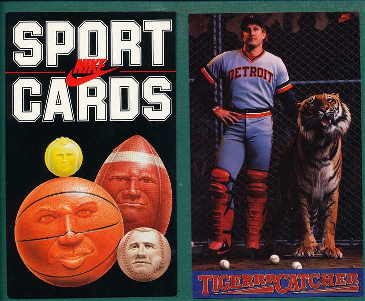 1985 Nike Sports Card Complete Set W/ Michael Jordan Pre-Rookie