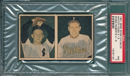 1951 Beck Ross Panel 4-5 Ford & 4-8 Roberts PSA 7 *Rookie*