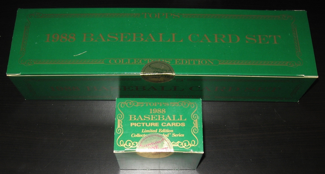 1988 Topps Tiffany Complete Set Plus Traded *Sealed*