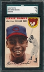 1954 Topps #94 Ernie Banks SGC 40 *Rookie*