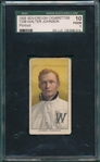 1909-1911 Walter Johnson, Portrait, Sovereign Cigarettes, SGC 10
