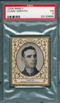 1909 T204 Clark Griffith Ramly Cigarettes PSA 3