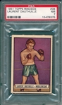 1951 Topps Ringside #38 Laurent Dauthuille PSA 7