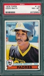 1979 Topps #116 Ozzie Smith PSA 8 *Rookie*