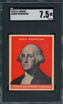 1932 U. S. Caramels Presidents George Washington SGC 7.5