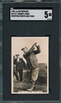1935 J. A. Pattreiquex #38 Bobby Jones, Sporting Events & Stars, SGC 5