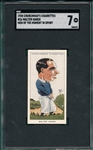 1928 Churchmans, Small, #26 Walter Hagen, Men Of The Moment In Sport, SGC 7