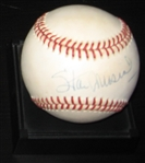 Stan Musial Single Signed Ball Authenticated PSA