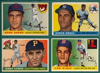 1955 Topps Lot of (113) W/ Sauer
